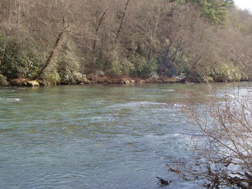Acres for sale by blue ridge in fannin county for Toccoa river fishing