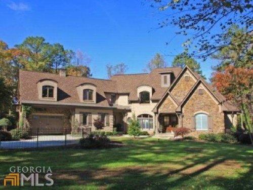 Equestrian Retreat French Farmhouse : Rutledge : Morgan County : Georgia