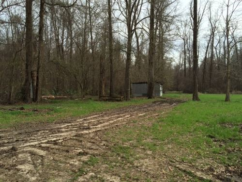 2.5 Ac, Hunting & Fishing Camp : Crowville : Madison Parish : Louisiana