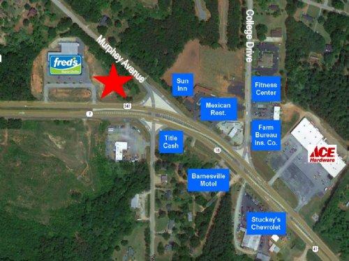 Fred's Corner Outparcel : Barnesville : Lamar County : Georgia