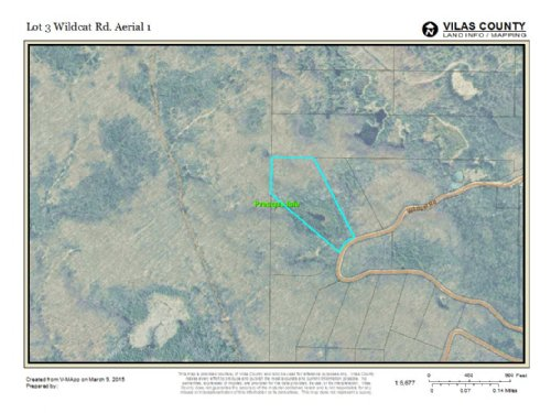 Mls 147868 - Lot 3 Wildcat : Presque Isle : Vilas County : Wisconsin