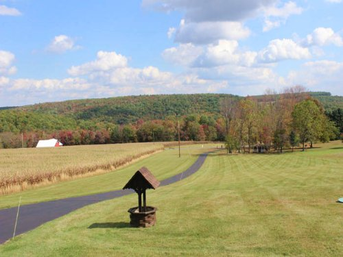 10+/- Acre Farmette, Custom Home : Benton : Columbia County : Pennsylvania