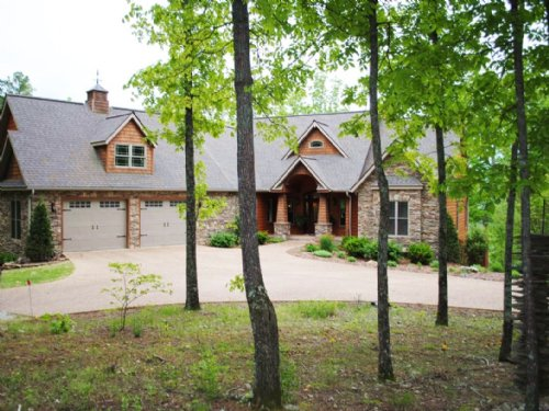 Luxurious Custom Home And 20 Acres : Mountain View : Stone County : Arkansas