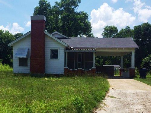 3br/2ba Home On 3 +/- Ac : Troy : Pike County : Alabama