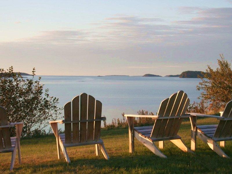 Oceanfront In Downeast Main : Machiasport : Washington County : Maine