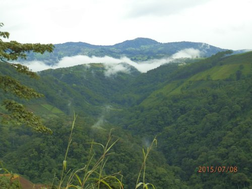 7.41 Ac Steep Mt Farm, Incred Views : Tucurrique De Cartago : Costa Rica