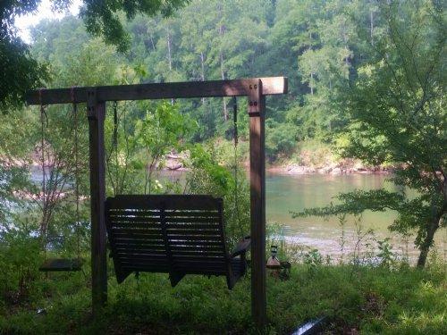 Incredible Private River Front Lot : Juliette : Monroe County : Georgia