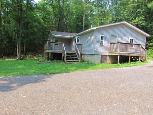 14+/- Acres And  Secluded Home : Millville : Columbia County : Pennsylvania