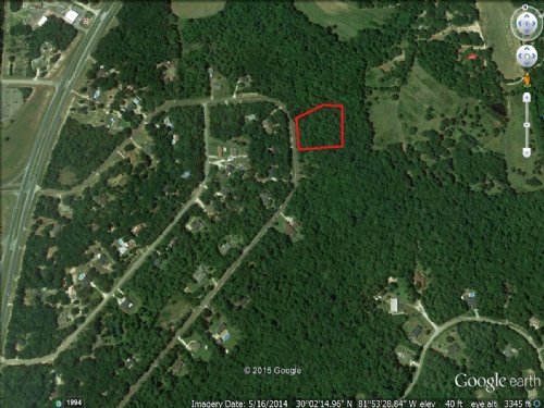 6.02 Acre Homesite : Middleburg : Clay County : Florida