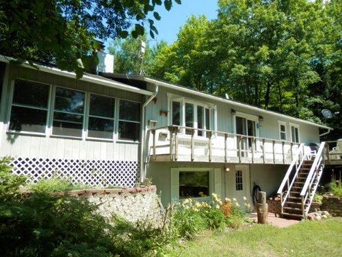 Lower Sugarbush Lake Ranch : Lac Du Flambeau : Vilas County : Wisconsin