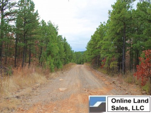 15.8 Acres Indian Ridge. Terms $350 : Clayton : Pittsburg County : Oklahoma