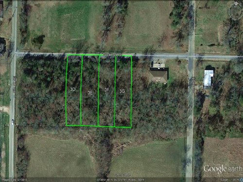 4 Adjoining Residential City Lots : Paris : Lamar County : Texas