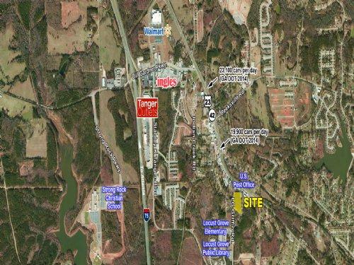 4.4± Acres For Sale : Locust Grove : Henry County : Georgia