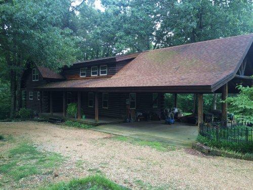 Beautiful Log Home With Huge Shop : Paragould : Greene County : Arkansas